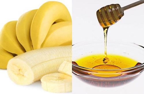 Công thức kem bôi trắng da từ chuối và mật ong
