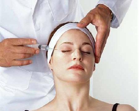 Lạm dụng chất trong thuốc chữa bệnh tiêm bề mặt như mặt nạ làm sáng da