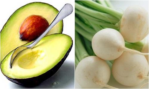 Mặt nạ bơ và củ cải đường cách dưỡng trắng da mặt tuyệt vời