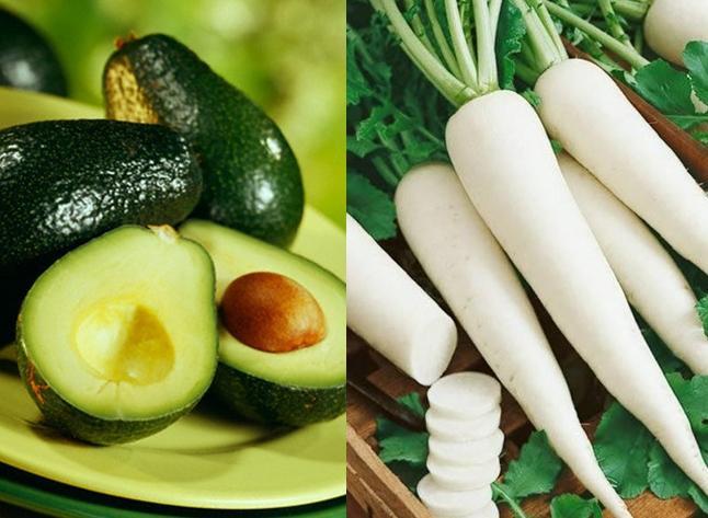 Nguyên liệu làm kem dưỡng trắng da mặt từ bơ và củ cải đường