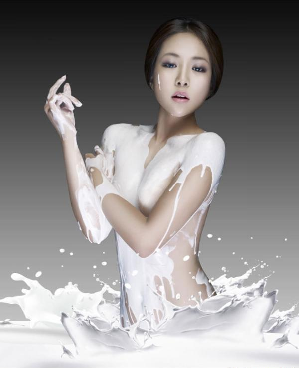 Bí quyết làm trắng da từ sữa non