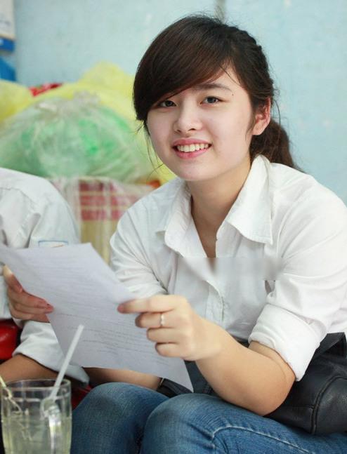Hà Trang và bí quyết để có làn da trắng