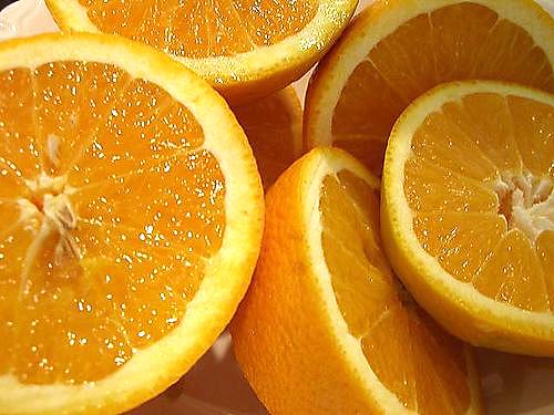 Da mặt trắng hơn với trái cam