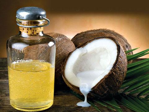 Dầu dừa giúp da mặt trắng hơn đơn giản