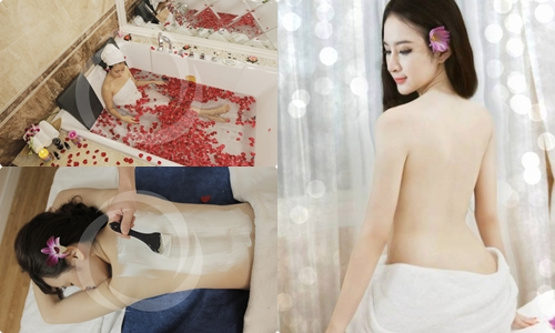 Công nghệ tắm trắng toàn thân sử dụng bùn khoáng và sữa non