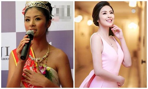 Sự thay đổi ngoạn mục sau khi tắm trắng của Hoa hậu Ngọc Hân