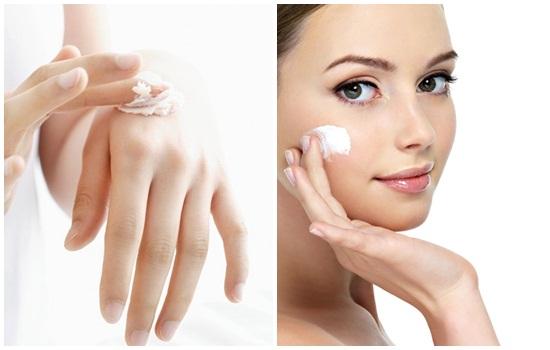 Dưỡng thể làm sáng da dạng kem chỉ phù hợp với da khô
