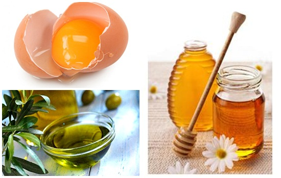 Cách làm trắng da mặt từ trứng gà, mật ong và dầu oliu