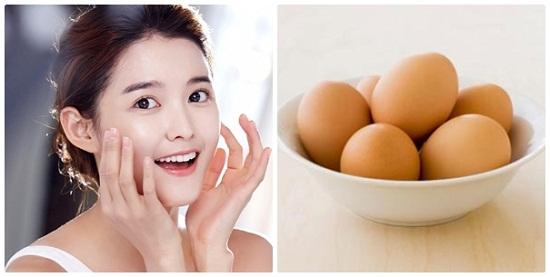 Cách làm trắng da mặt từ trứng rất dễ thực hiện