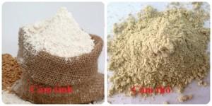 Dị ứng da do tự tắm trắng tại nhà bằng cám gạo