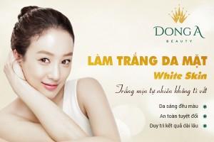 Làm trắng da mặt – White Skin, trắng sáng tự nhiên không tì vết