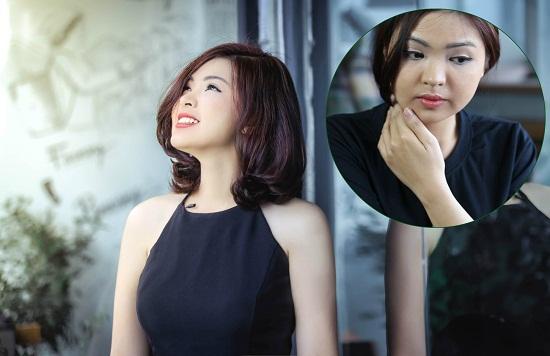 Hình ảnh trước và sau tắm trắng của Phương Lê