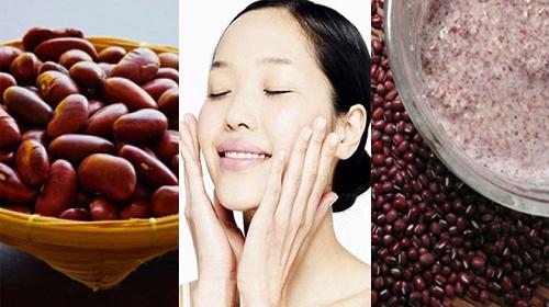 Phương pháp tắm trắng da tự nhiên bằng đậu đỏ