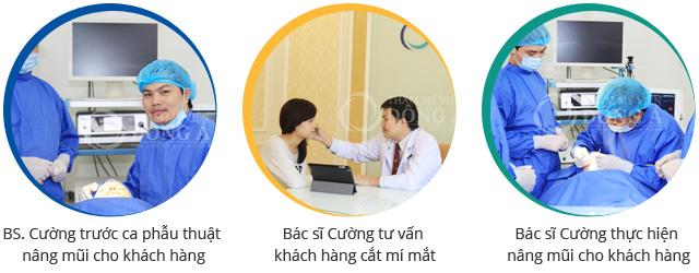 Đội ngũ bác sĩ chuyên khoa tại Thẩm mỹ viện Đông Á