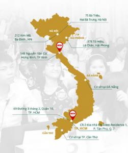 Hệ thống chuỗi Thẩm mỹ viện Đông Á trên toàn quốc